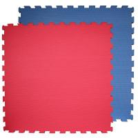 Ostatní Tatami žíněnka 100 x 100 cm - 3 cm - červeno-modrá