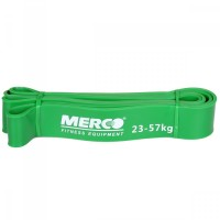 Merco Force Band posilovací guma 208x4,5cm zelená