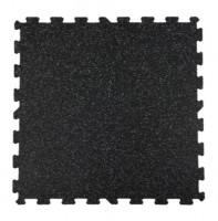 Attack Sportovní podlaha Puzzle 8mm, 1x1m - barevný vsyp 10% - červená
