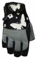 Dámské fitness rukavice Polednik Butterfly černé - M