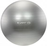 Gymnastický míč Lifefit 75 cm - bordó