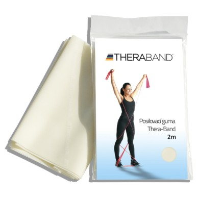 Posilovací guma TheraBand 2m béžová