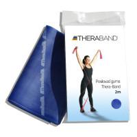 Posilovací guma TheraBand 2m modrá