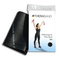 Posilovací guma TheraBand 2m černá
