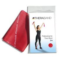 Posilovací guma TheraBand 2m červená