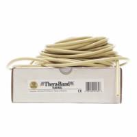 Guma na cvičení TheraBand Tubing 30,5m béžová