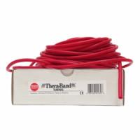 Guma na cvičení TheraBand Tubing 30,5m červená
