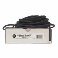 Guma na cvičení TheraBand Tubing 30,5m černá