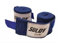 Boxerské bandáže Sulov 3m - bílá