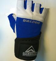 Fitness rukavice Polednik Bulldog modré - S