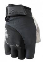 Dámské fitness rukavice Polednik Lady černé - XS