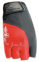 Dámské fitness rukavice Polednik Lady červené - M