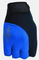 Dámské fitness rukavice Polednik Lady tmavě modré - M