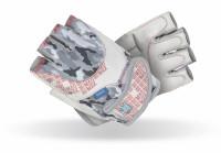 Dámské fitness rukavice Madmax No Matter White - L
