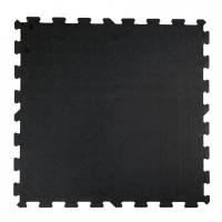 Attack Sportovní podlaha Puzzle 8mm, 1x1m - černá - černá