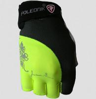 Dámské fitness rukavice Polednik Lady Newzelené - M