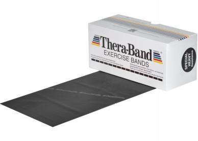 Posilovací guma TheraBand 5,5m černá