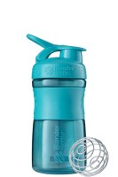 Blender Bottle SportMixer 590 ml Modro zelená