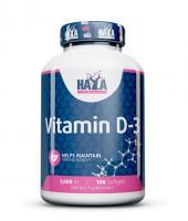 Haya Labs Vitamin D3 1000IU 100 kapslí