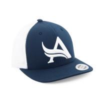 Aesthetix Era pánská kšiltovka Snapback Viper Blue White Modrá