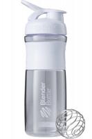 Blender Bottle SportMixer 820 ml bílá