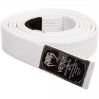 Prémiový BJJ pásek Venum - bílý