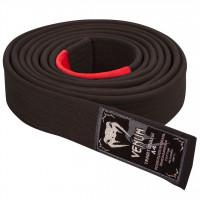 Prémiový BJJ pásek Venum - černý