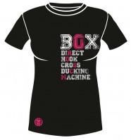 Dámské sportovní tričko MACHINE BOX - Černé