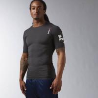 Pánské kompresní tričko Reebok QUIK - černé