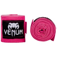Boxerské bandáže značky VENUM KONTACT - 4 m NEO růžové