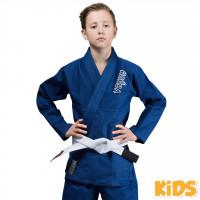 Venum Dětské BJJ GI CONTENDER - Modré + bílý pás zdarma