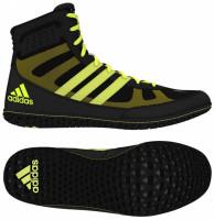 ADIDAS Zápasnické boty Mat Wizard.3 - černo/žluté