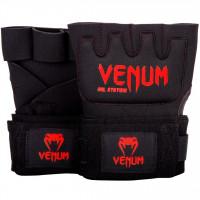 Venum rukavice Gel Kontact - černo/červené