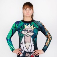 Dámský Rashguard TATAMI Fightwear - KING SLOTH