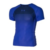 UNDER ARMOUR Kompresní triko UA Vanish s Kr. rukávem - modré