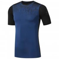 Pánské kompresní tričko Reebok AC Graphic Comp - modré