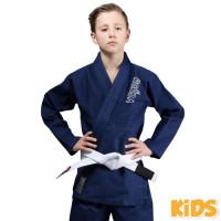 Venum Dětské BJJ GI CONTENDER - Navy modré + bílý pásek zdarma