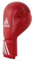 Boxerské rukavice Adidas WAKO červené - kůže