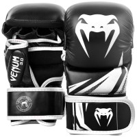 MMA Sparring rukavice VENUM CHALLENGER 3.0 - černo/bílé