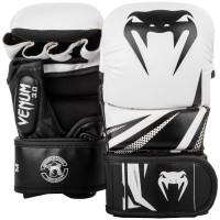 MMA Sparring rukavice VENUM CHALLENGER 3.0 - bílo/černé