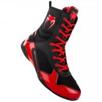 VENUM Boxerské boty ELITE - černo/červené