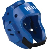 BLITZ Přilba Dipped Foam Head Guard - Modrá