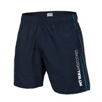PitBull West Coast Plavecké šortky BARK - tmavě modré