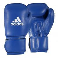 Boxerské rukavice Adidas AIBA II  modré - kůže