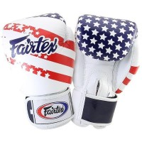 Boxerské rukavice Fairtex BGV1 USA FLAG