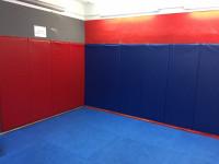 Nástěnná žíněnka - Wall Pad 180x63x4 modrá