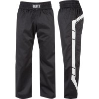 Plátěné kalhoty BLITZ Elite Full Contact - černo/bílé