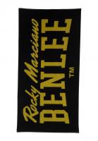 BENLEE Ručník BERRY - černo/žlutý