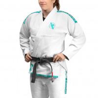 HAYABUSA Dámské Kimono Womens Lightweight Jiu Jitsu Gi - White / Teal