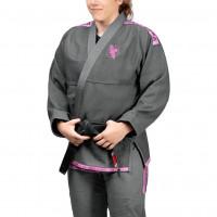 HAYABUSA Dámské Kimono Womens Lightweight Jiu Jitsu Gi - Grey / Pink